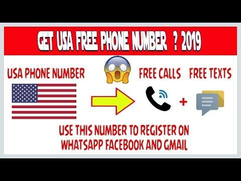 How To Get Unlimited USA Phone Numbers To Receive Calls ...