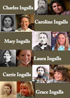 Prairiegirl: Charles Ingalls and his family