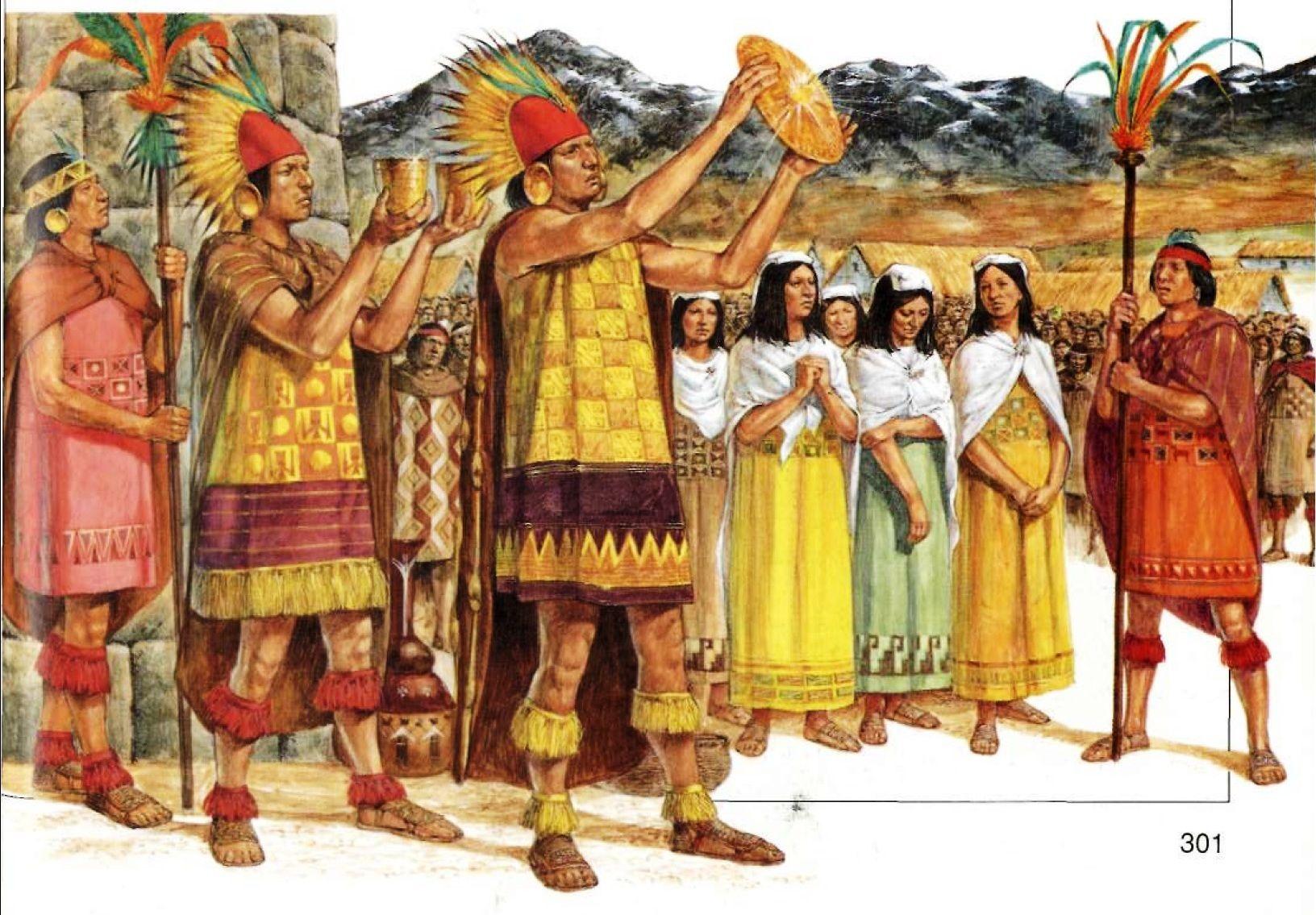 Richard Hook The Incas