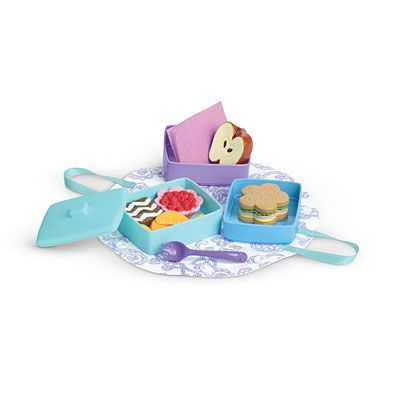 American Girl® Accessories: Stackable Lunch Set | lauryns favorites ...
