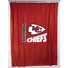 Sports Coverage Kansas City Chiefs Shower Curtain Nfl Outfits