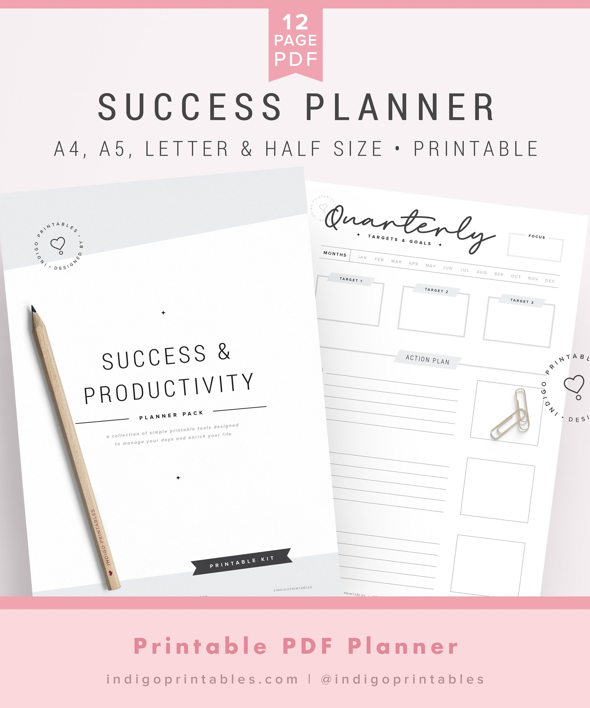 Digital Planner Productivity Planner Business Planner