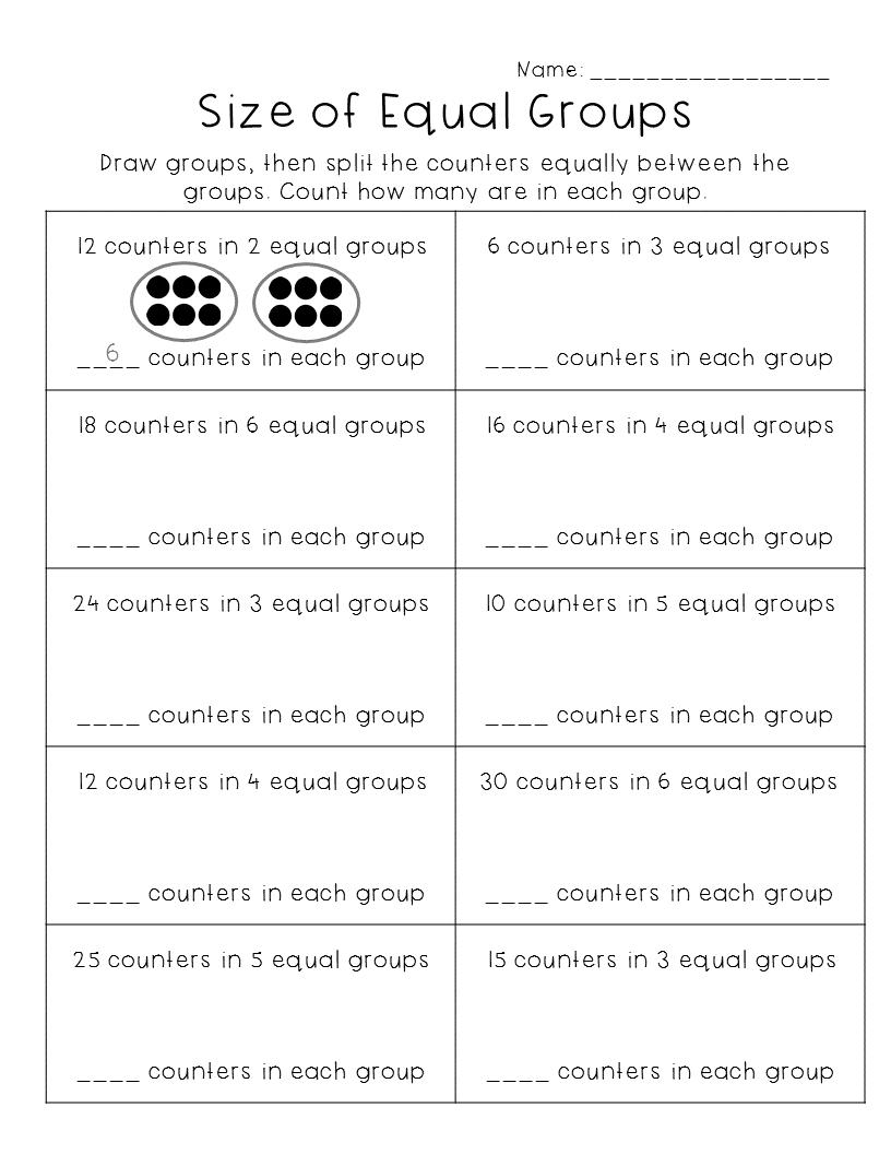 Understand Division Worksheets   Division worksheets [ 1056 x 816 Pixel ]
