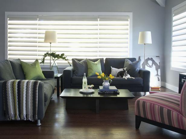 Modern Living Rooms Jennifer Reiner  Designer Portfolio - moderne wohnzimmer farben
