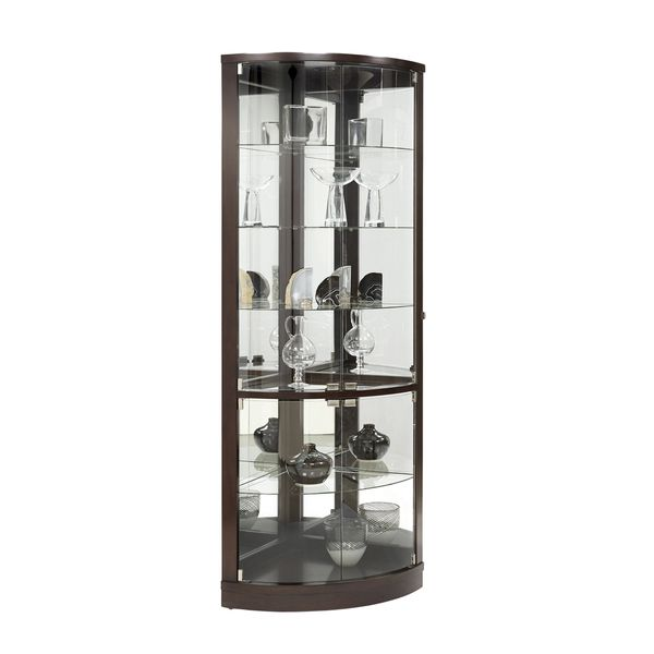 Overstock Com Online Shopping Bedding Furniture Electronics Jewelry Clothing More Corner Curio Curved Glass Curio Cabinet
