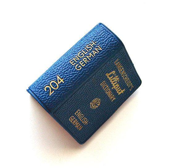 My Travel Packing List: Mini 2 inch Langenscheidt Lilliput