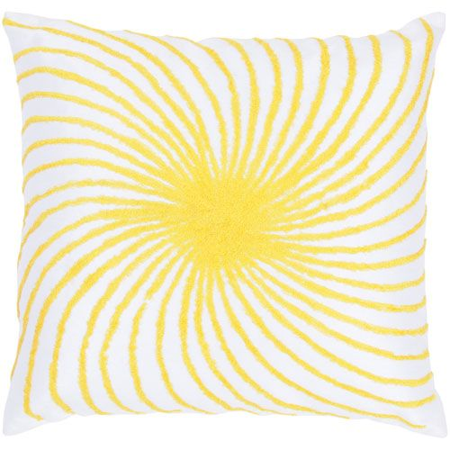 One Of A Kind White 18 Inch Throw Pillow Rizzy Rugs Accent Pillows Throw Pillows Bedding