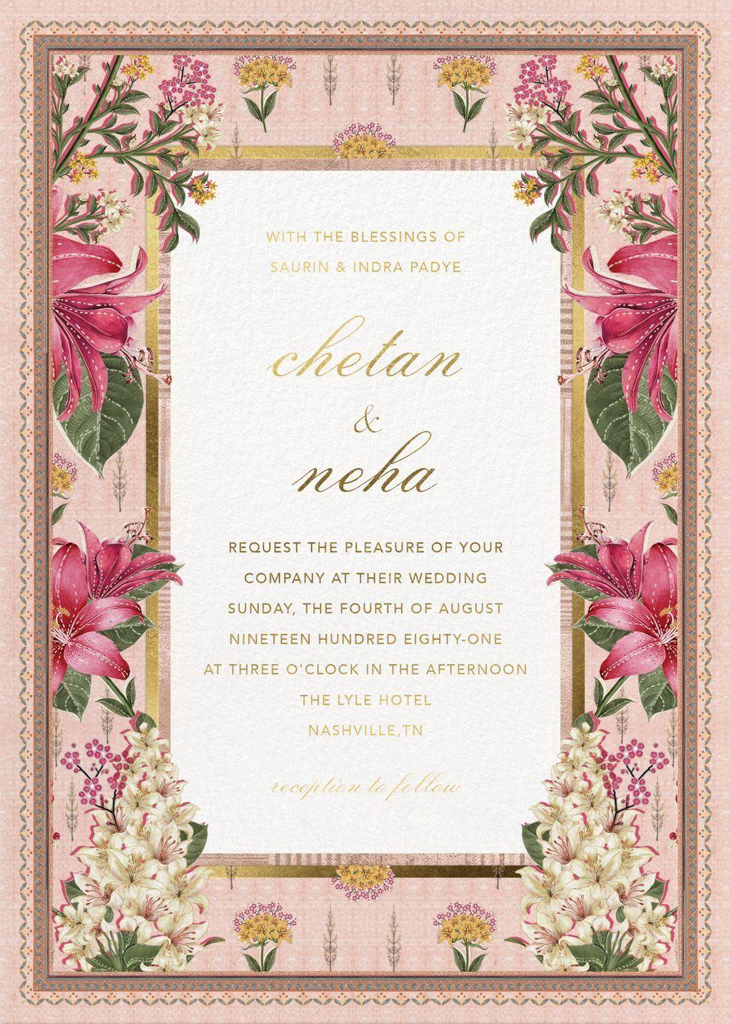 Bespoke Digital Wedding Invitations Crafted With Aesthetics Digital Wedding Invitations Indian Wedding Invitation Cards Indian Wedding Cards