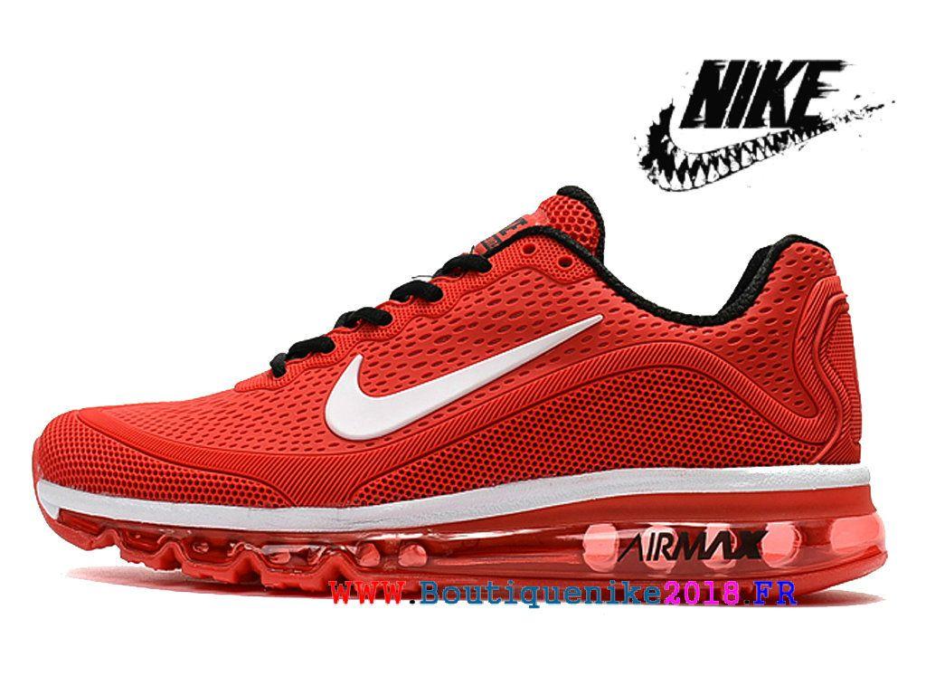 Nike Air 2017.5 Max Kpu Chaussures De Course Sneakers à Vendre Hommes Rouge  / blanc