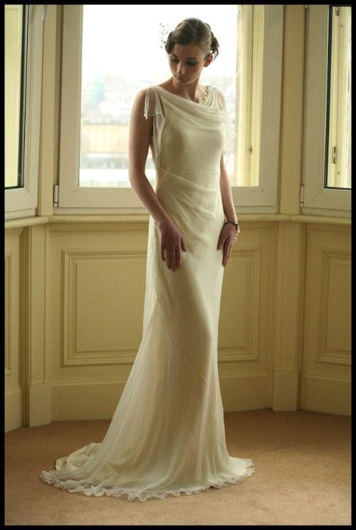 Gorgeous Wedding Dress 20s Vestido De Novia Espectacular Años 20
