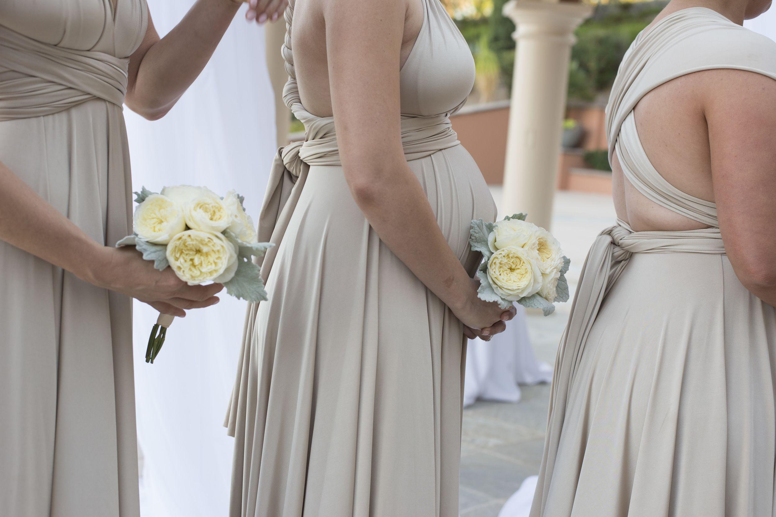 Baby Bump Bridesmaid Las Vegas Destination Wedding Image By Altf