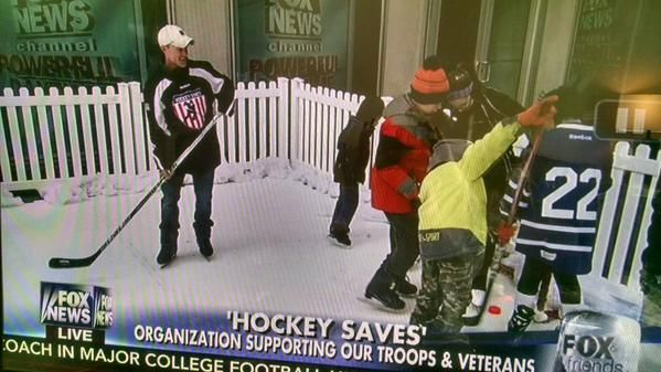 Hockey Saves™ in NYC!