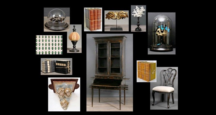 cabinet de curiosit s curiosit s objets insolites objets d co napol on iii apothicaire. Black Bedroom Furniture Sets. Home Design Ideas