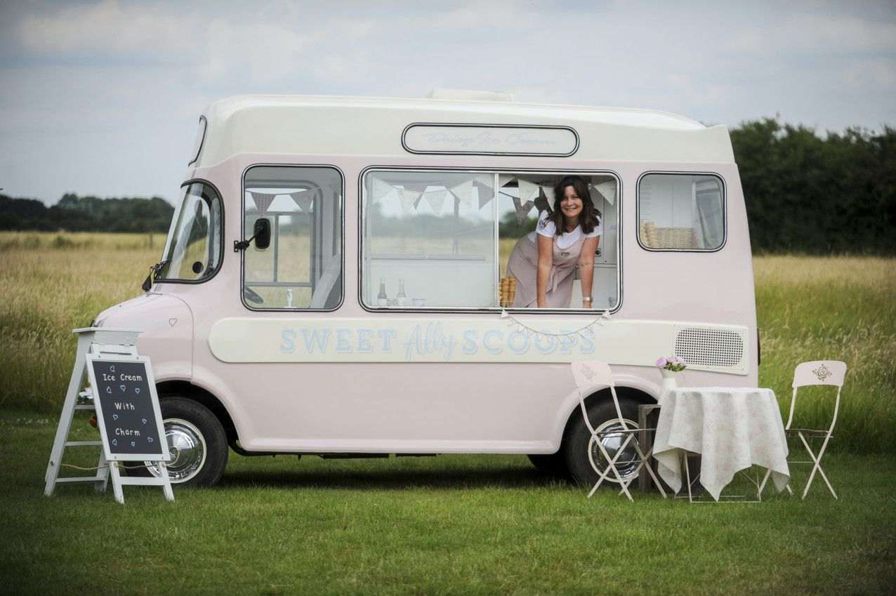 Lottie the prettiest vintage ice cream van she can come