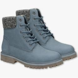 Photo of C&A Young Spirit Boots Leather Imitation, Gray, Size: 36 C & ac & a