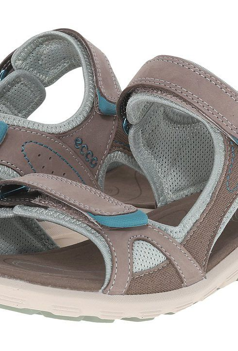 Womens Sandals ECCO Sport Cruise Catalina Sandal Warm Grey/Ice Flower