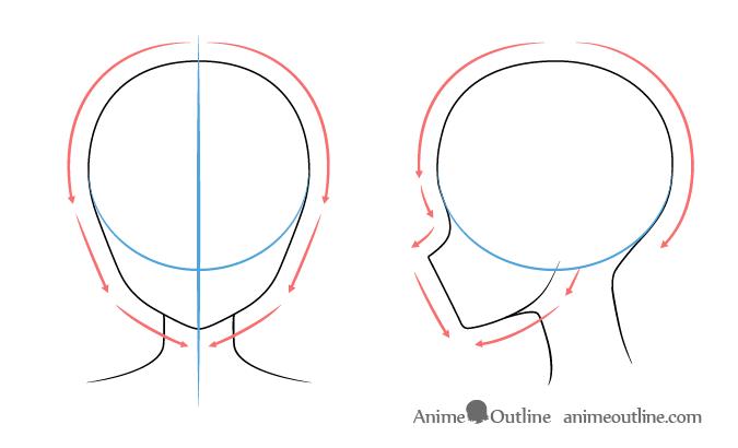 Animeface Animemale Animepersonagens Animeposes In 2020 Anime Face Shapes Anime Head Shapes Anime Head