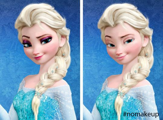 Queen Elsa Without Makeup Elsa Without Makeup Disney Princess Queen Elsa