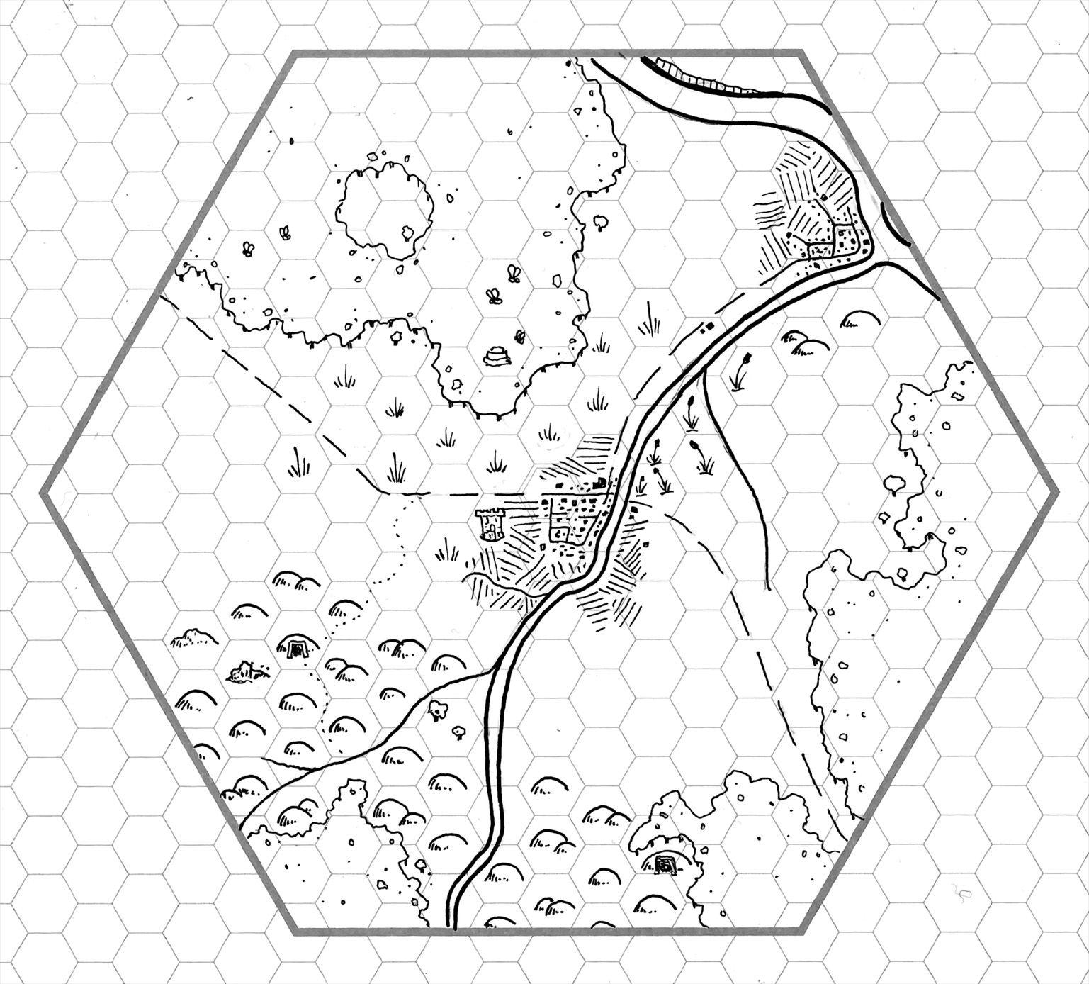 Tuesday Map Baraloba Amp Environs