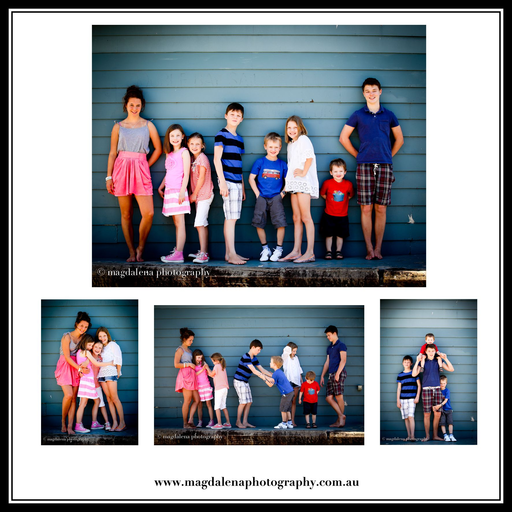 cousins pic ideas for summer   © magdalena photography #grandkidsphotography