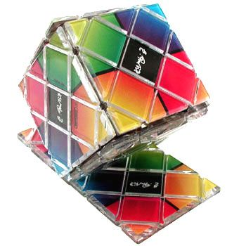 2x4 Cube Folding Puzzle (Rubik's Create the Cube) by Matchbox