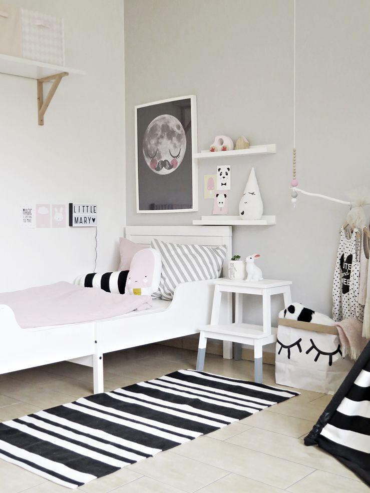 Minimalist Kids Room Girls