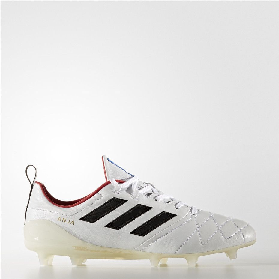 7ac36aad9 Adidas ACE 17.1 Anja Firm Ground Cleats (Off White   Black   Core Red)