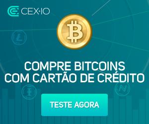 Compre bitcoin com cartão de crédito em todo o mundo: corretora bitcoin CEX.IO reduz taxas | Bitcoin News Brasil
