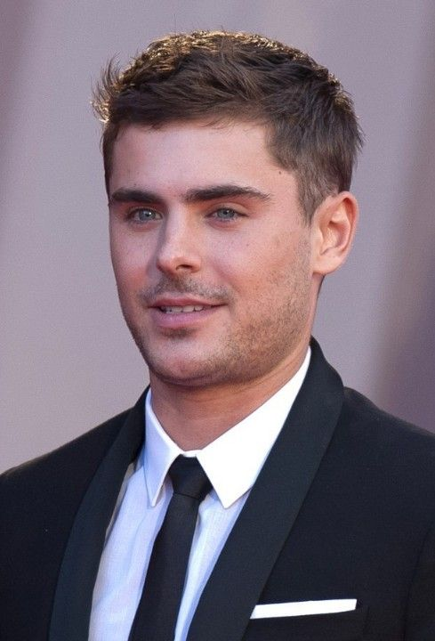 Surprising Zac Efron Hairstyle The O39Jays And Straight Hairstyles On Pinterest Short Hairstyles Gunalazisus