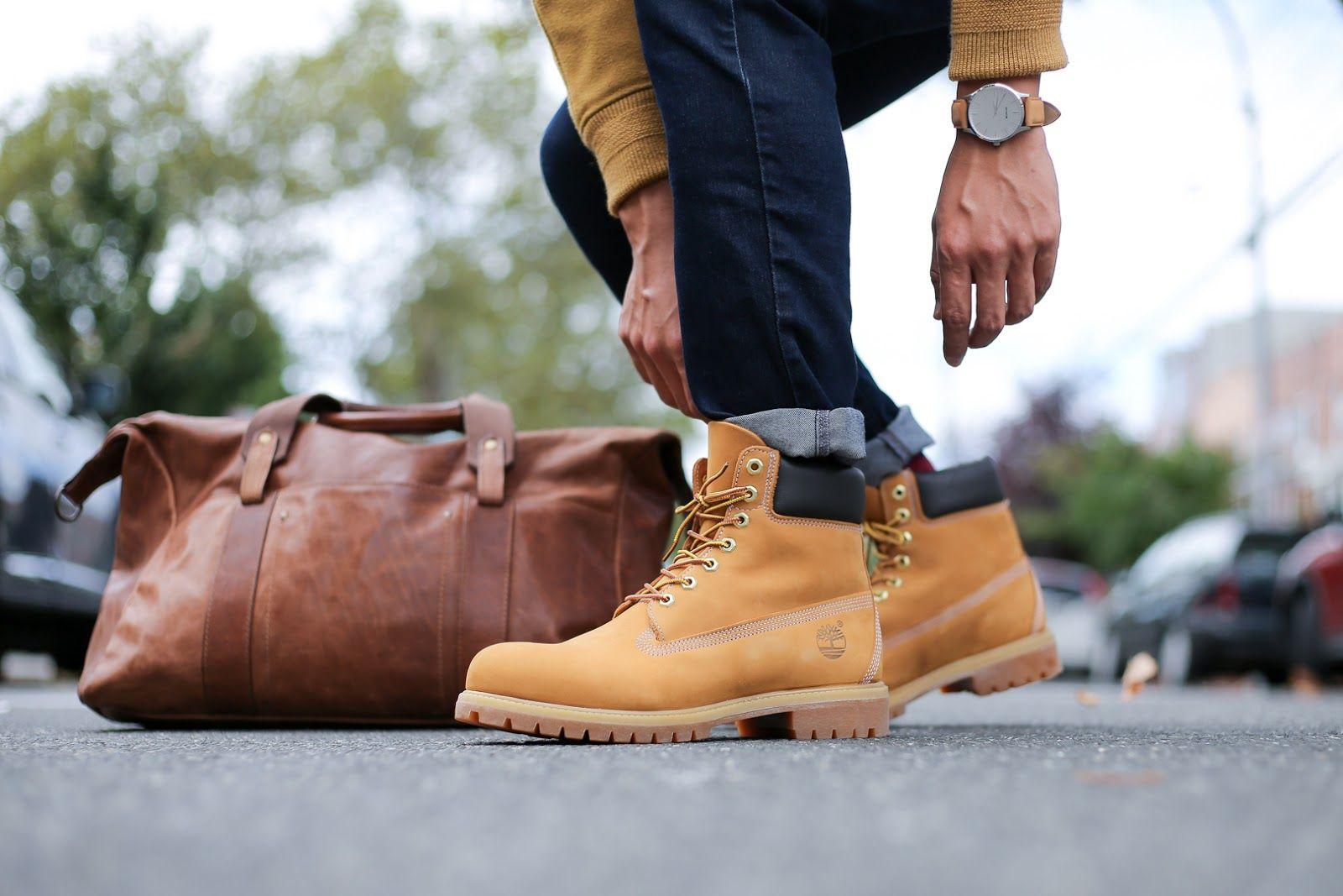 Iconic Timberland Boots Two Ways   LEVITATE STYLE