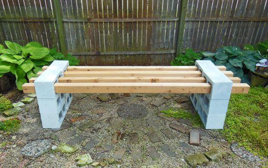 garden bench build – no drill, no saw, all easy | bench, gardens, Gartenarbeit ideen