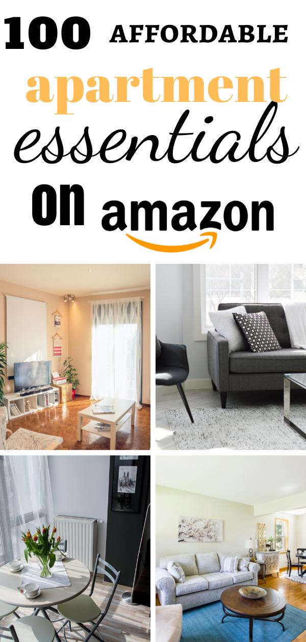 Affordable Apartment Essentials
