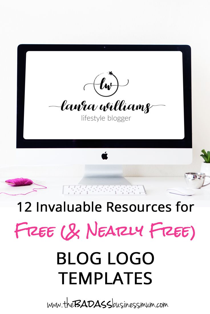 12 Invaluable Resources for Free (and Nearly Free) Blog Logo Templates