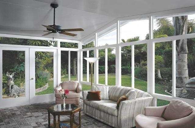 veranda chiusa arredamento - fotogallery donnaclick | giardino ... - Divano Per Veranda
