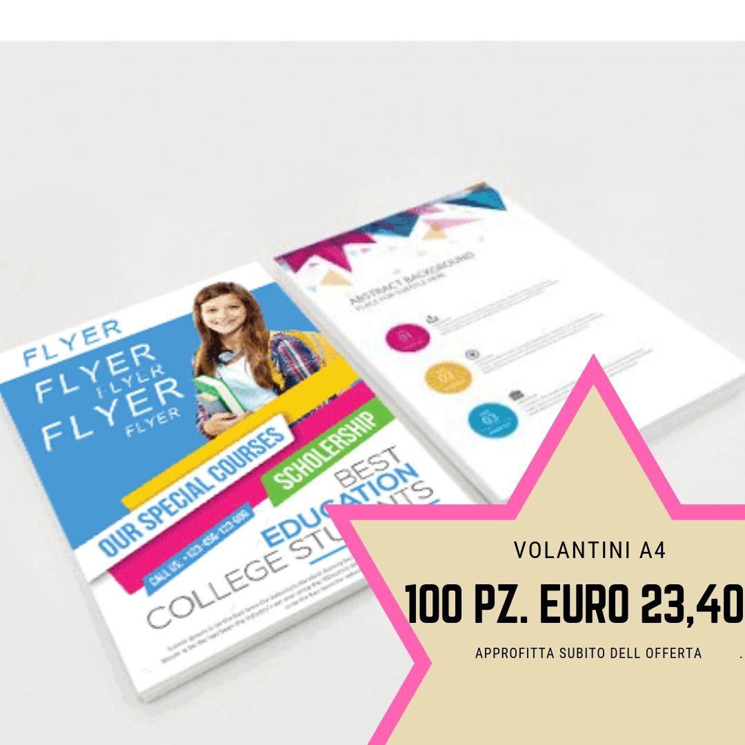 Stampa Online I Tuoi Volantini E Flyer A4 Il Formato Piu