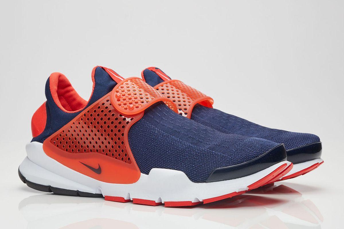 6ac9b565ccb3 Nike  Midnight Navy Max Orange  Sock Dart - EU Kicks  Sneaker Magazine
