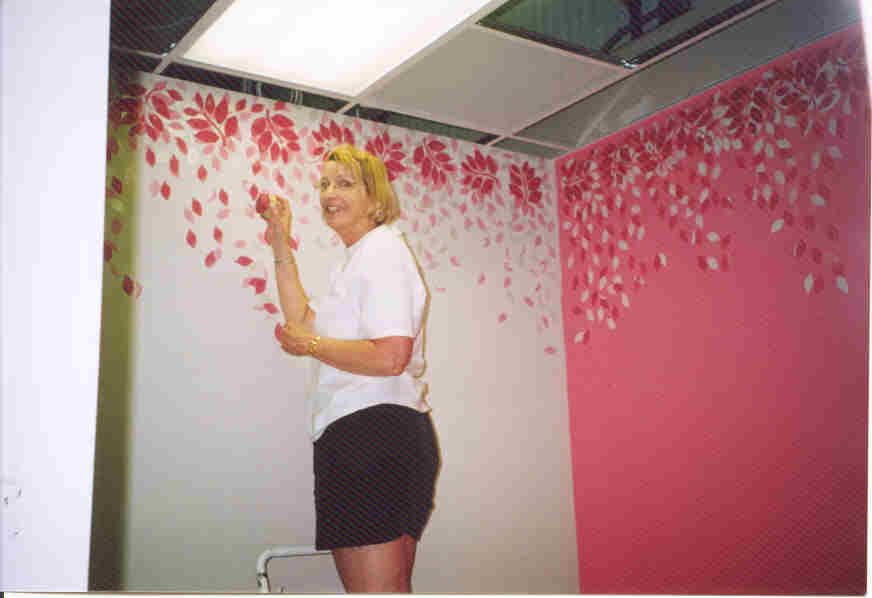 How To Sponge Painting Walls