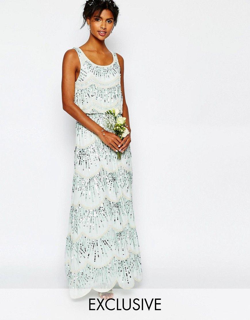 Maya Chiffon Maxi Dress with Embellishment   Maya, Verzierung und ...
