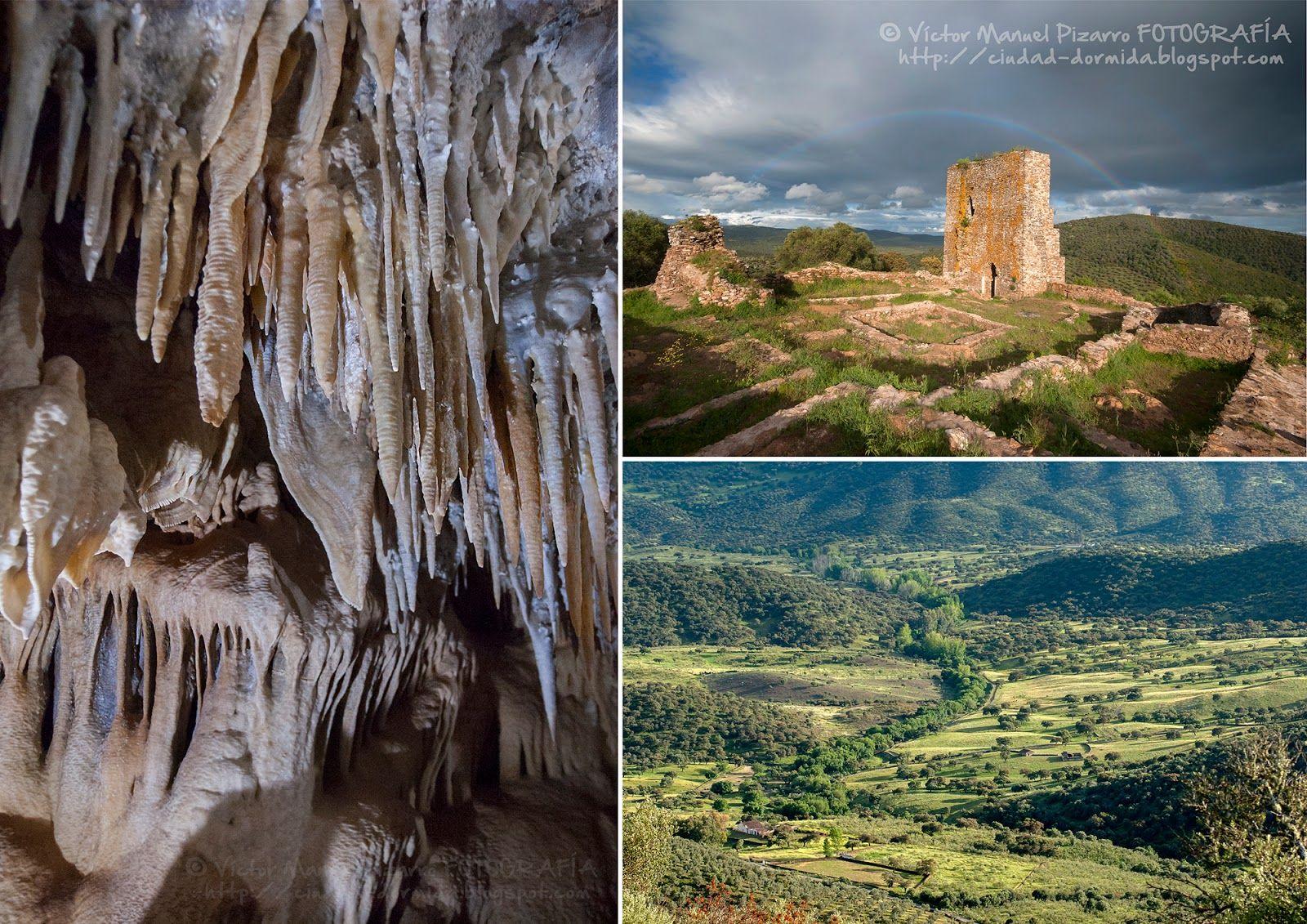 El Monumento Natural de las Cuevas de Fuentes de León, se encuentra en la localidad de Fuentes de León  (Comarca de Tentudía, Badajoz). Se ...