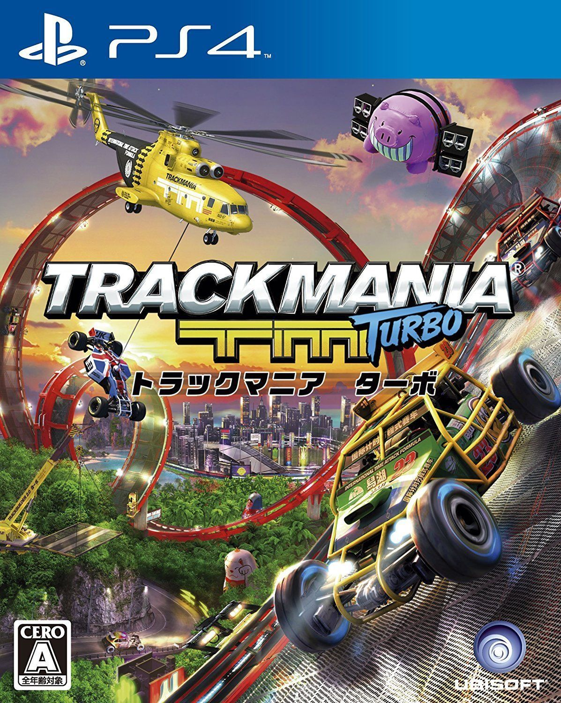 PS4 TrackMania Track Mania Turbo Japan PlayStation 4 Game