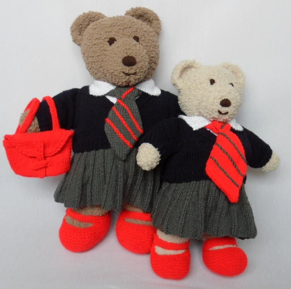 Cuddle and snuggle teddy bear clothes school uniform teddy clothes bankloansurffo Images