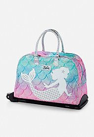 f58b5cd5b1 Mermaid Rolling Luggage. Mermaid Rolling Luggage Justice Bags ...