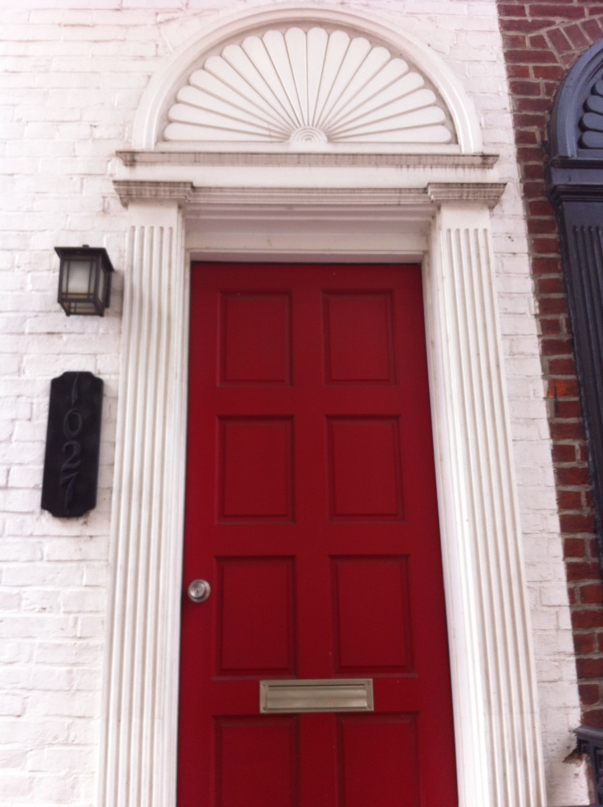 Red Door Georgetown Red Door Doors