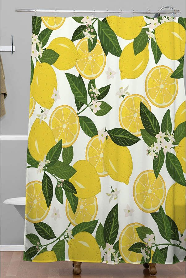 Deny Designs Iveta Abolina Summer Punch Shower Curtain Bedding Summer Punch Design Baby Clothes Shops