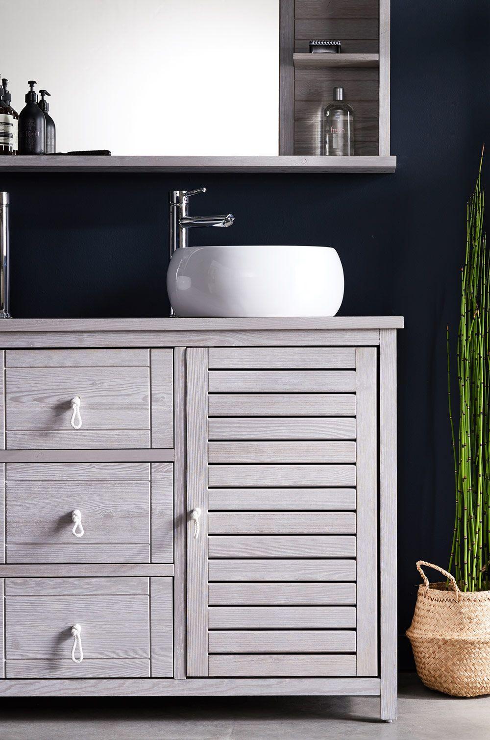 Dtu Carrelage Salle De Bain ~ marine bain miroir rectangulaire de salle de bains avec tablettes en