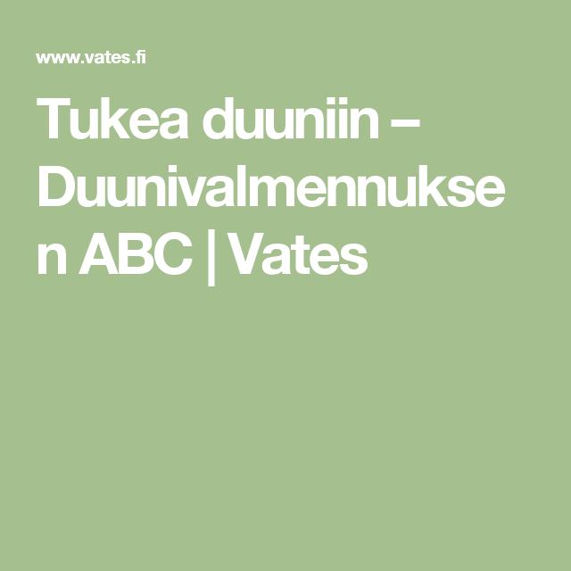 Tukea duuniin – Duunivalmennuksen ABC | Vates