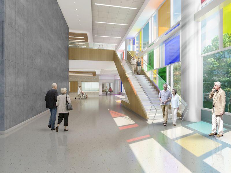 The design of the new Omaha VA Ambulatory Care Center