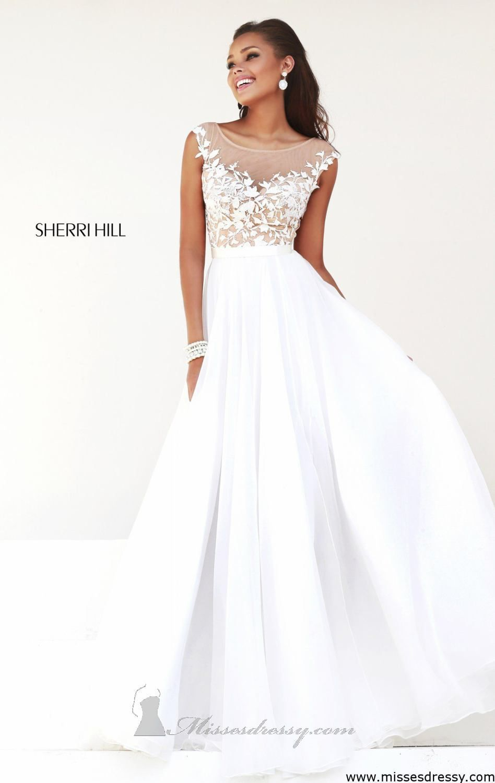Sherri Hill 11151 by Sherri Hill | Color Love: White | Pinterest ...