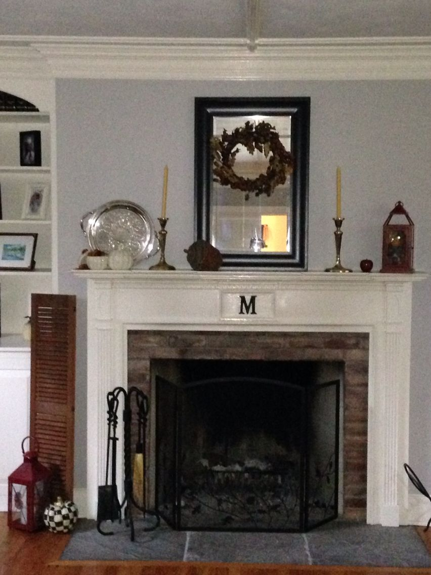 My fall mantle