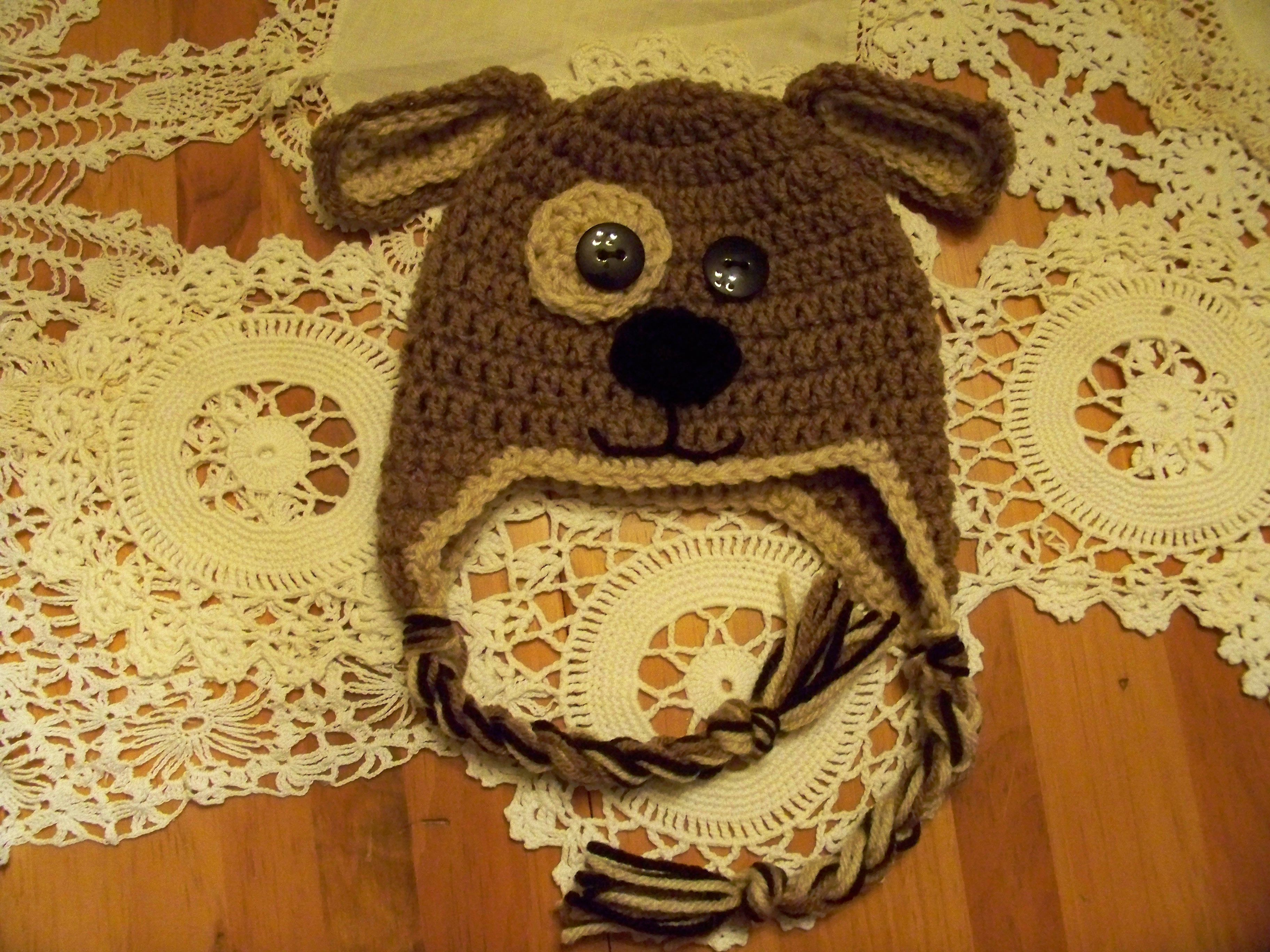 Repeat crafter me has a cute free puppy hat pattern i made this repeat crafter me has a cute free puppy hat pattern i made this one bankloansurffo Gallery